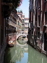 Rio della Verona: a rio or small canal in Venice