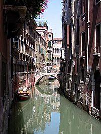 Rio della Verona: a rio or small canal in Venice