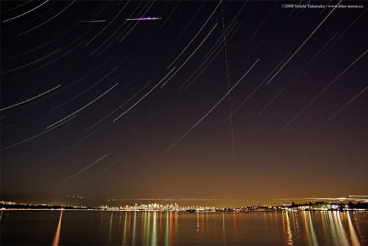 Perseid over Vancouver